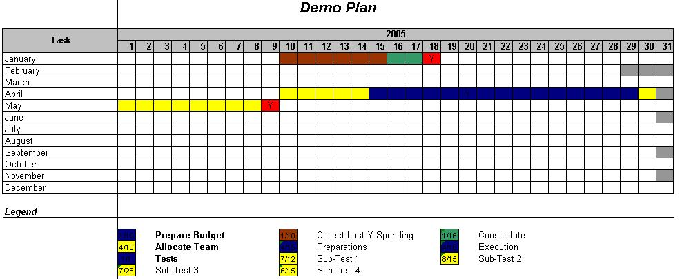 music festival planning template - officehelp macro 00002 calendar plan generator